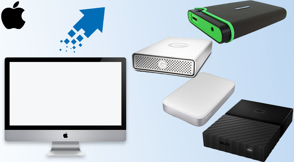 Bejewel Mac with these External Hard Drives