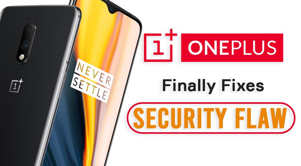 Oneplus Security