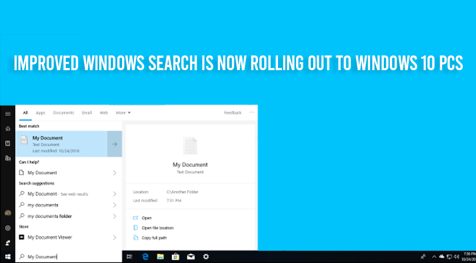 Features on Windows 10