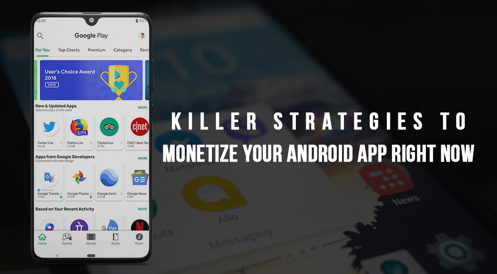 monetize android app