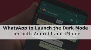 Turn On Whatsapp dark mode
