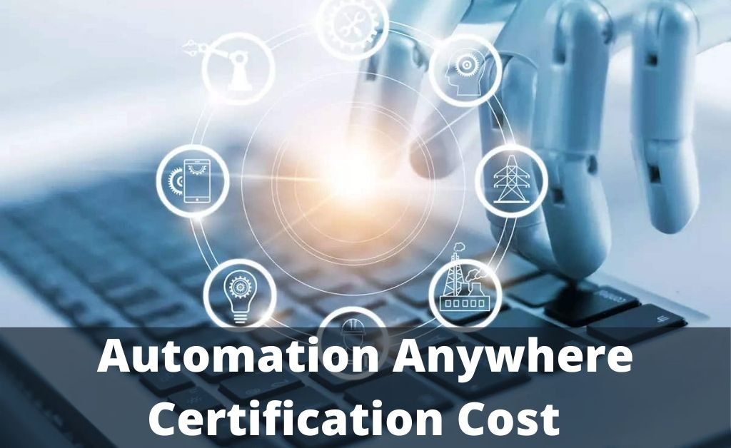 automation anywhere certification cost