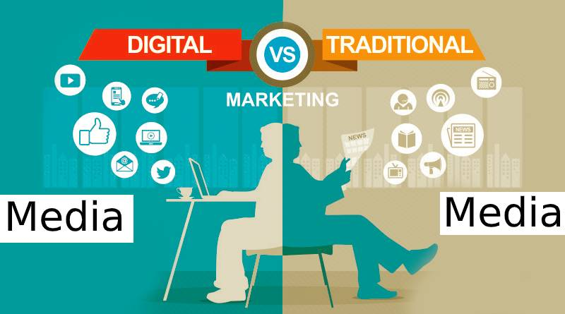 Digital media vs traditional media